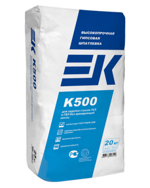 ЕК 500 Шпатлевка  (20кг)