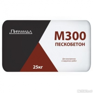 Пескобетон ЕК М300 Пирамида (25кг)