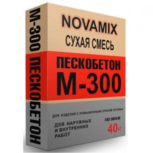 Пескобетон М300 (40кг) НоваМикс