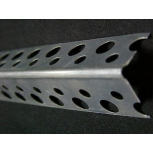 Перфорированный уголок алюминевый 21*21(3м)