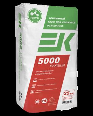 Клей ЕК 5000 AQUA (25кг) плиточный клей
