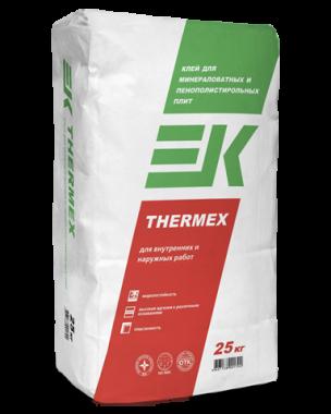 Клей ЕК THERMEX(25кг) для пенопласта и минеральных плит