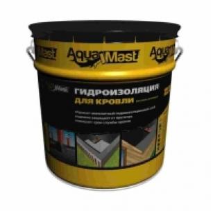 Гидроизоляция для кровли битумно-резиновая AquaMast(18кг)