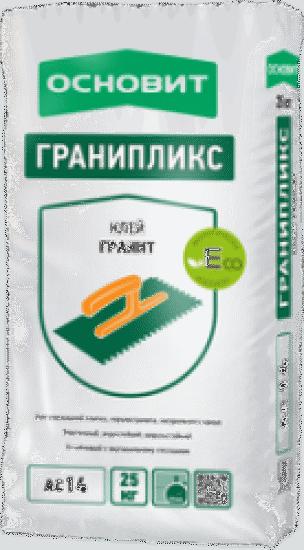 Клей плиточный Основит ГРАНИПЛИКС эластичный АС14 (Т14) (25кг)