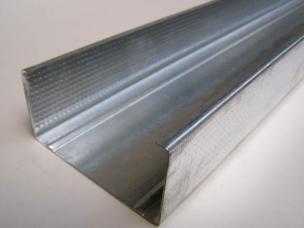 Профиль для гипсокартона стоечный ПС 100 50(3м)(0,4мм)