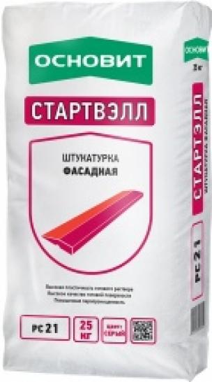 Штукатурка Основит СТАРТВЭЛЛ PC 21 (Т 21)  цементно-известковая  (25кг)