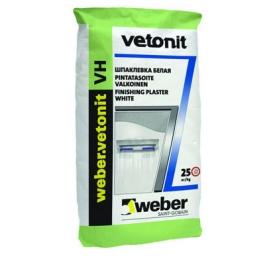 Финишная влагостойкая шпатлевка Ветонит VH(20кг) белая