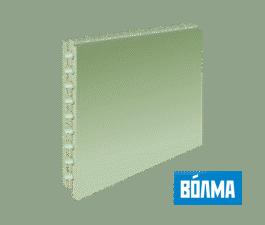 ПГП Волма (667х500х80мм) пазогребневые плиты пустотелые влагостойкие