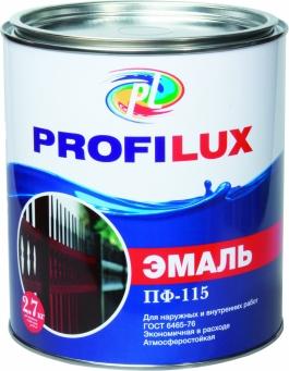 Эмаль ПФ-115 Профилюкс белая глянцевая (0,9кг)