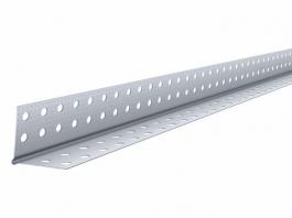 Перфорированный уголок алюминиевый 25*25(3м) КНАУФ
