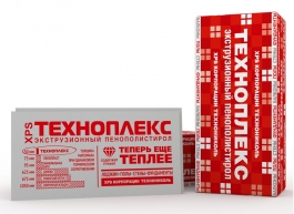 Экструдированный пенополистирол ТехноНиколь Техноплекс (600х1200х20мм) 20шт/уп