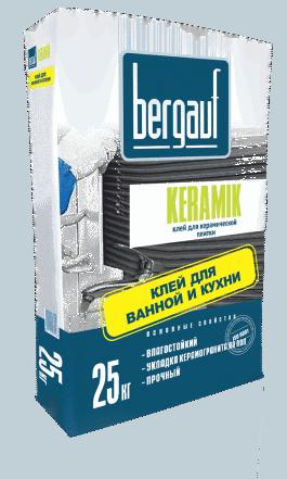 Клей для плитки Бергауф Керамик (25кг)