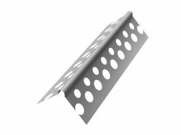 Перфорированный уголок оцинкованный Албес Стронг 25*25 (3м)