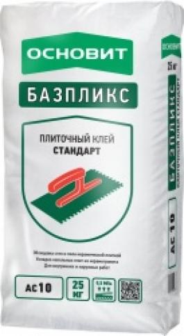 Клей плиточный Основит БАЗПЛИКС AC10 (Т10) (25кг)