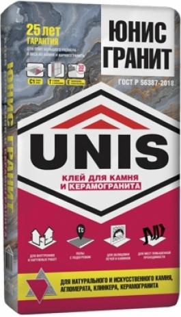 Клей для плитки Юнис Гранит (25кг)
