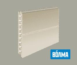 ПГП Волма (667х500х80мм) пазогребневые плиты пустотелые