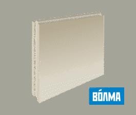 ПГП Волма (667х500х100мм) пазогребневые плиты полнотелые