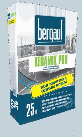 Клей для плитки Бергауф Керамик Pro (25кг)