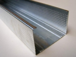 Профиль для гипсокартона  стоечный ПС 75 50(3м)(0,6мм)