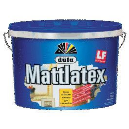 Краска акриловая Dufa Mattlatex (5л)