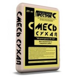 Сухая смесь м150 штукатурная Престиж(25кг)