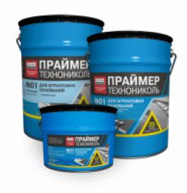 Праймер битумный ТехноНИКОЛЬ №01(20л)(16кг)