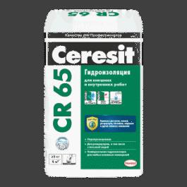 Цементная гидроизоляционная масса Ceresit CR 65(25кг)