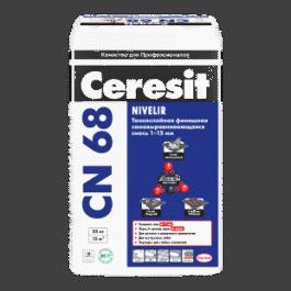 Cамовыравнивающаяся смесь Ceresit CN 68(от 1 до 15мм) 25кг