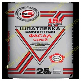 Шпатлевка Юнис Фасад серый (25 кг.)