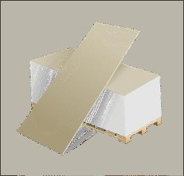 Гипсокартон ГКЛ 9,5мм(1,2*2,5м)Волма