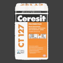 Полимерная финишная шпаклевка Ceresit CT127 белая для внутренних работ (25кг)