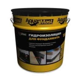 Гидроизоляция для фундаментов битумная AquaMast(18кг)
