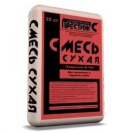 Сухая смесь м150 кладочная Престиж (25кг)